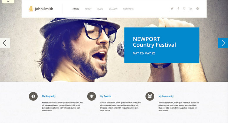 WordPress Art & Culture Themes