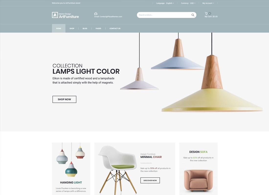 Artfurniture | Furniture Theme for WooCommerce WordPress Theme
