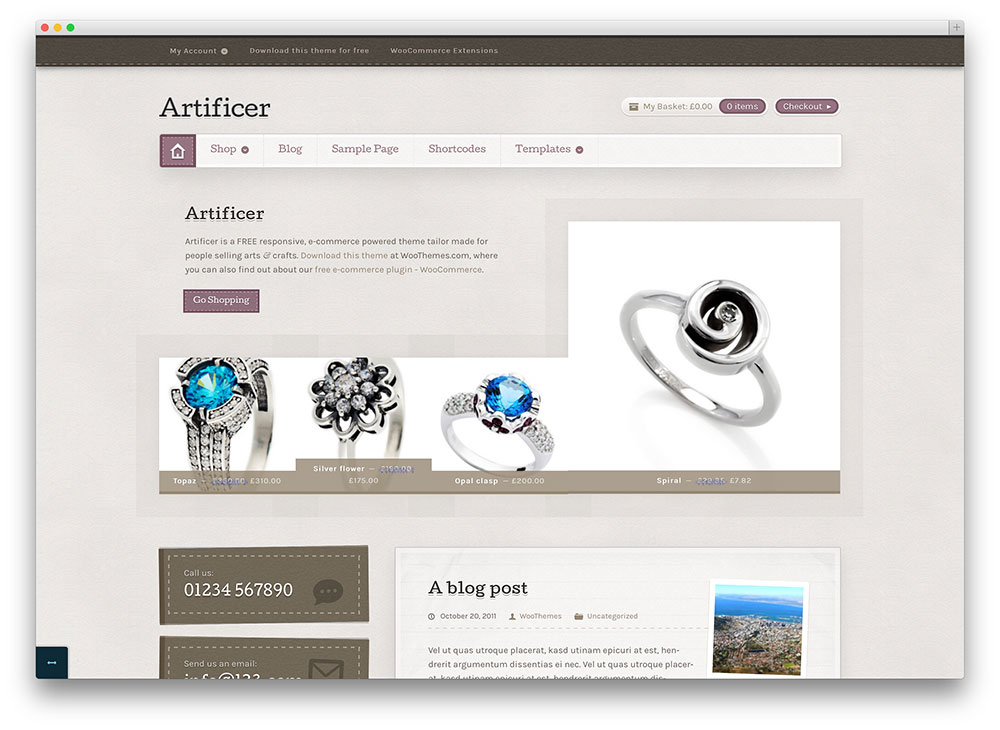 artificer - vintage jewelry store