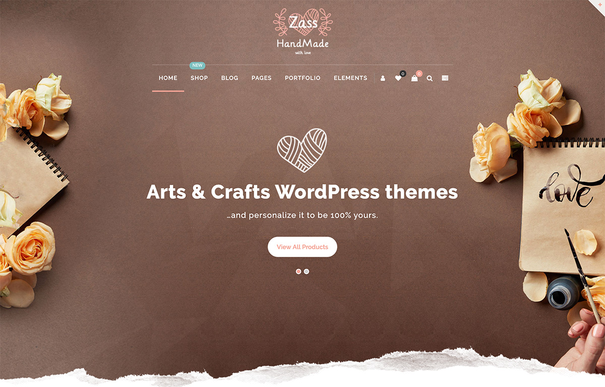 22 Best Hobby, Arts & Crafts, And Handmade Goods WordPress Themes 2019