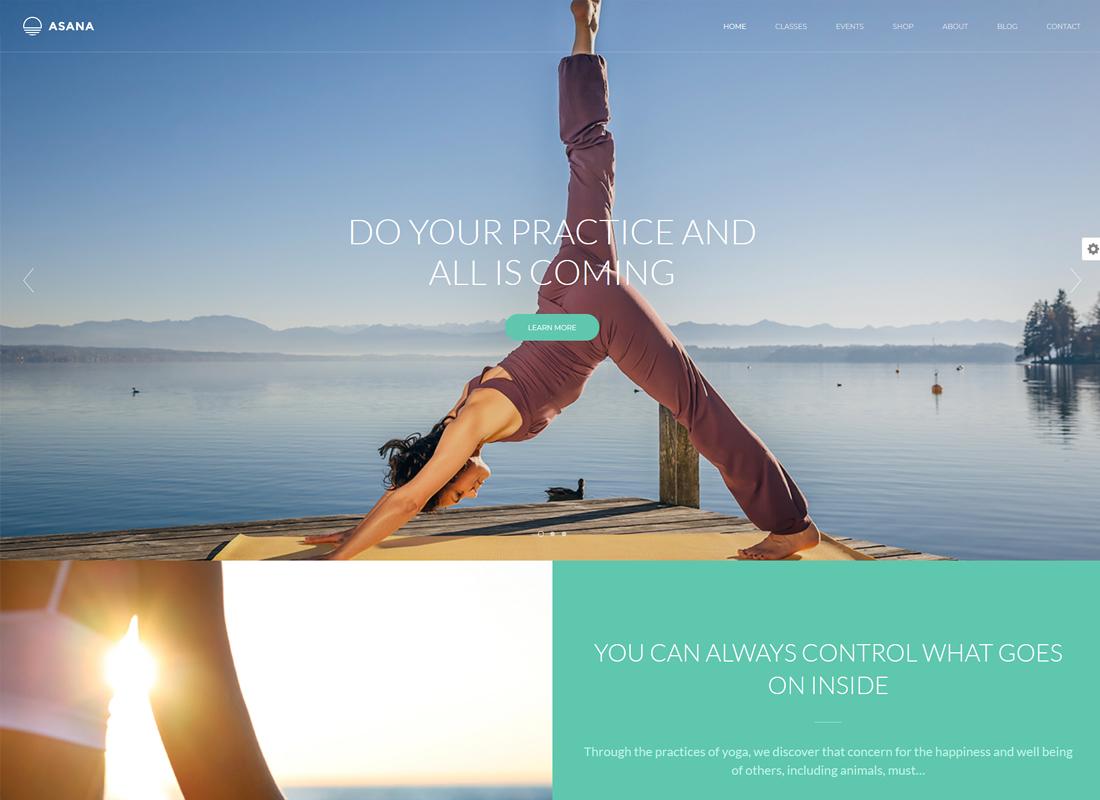 Asana | Sport and Yoga WordPress Theme