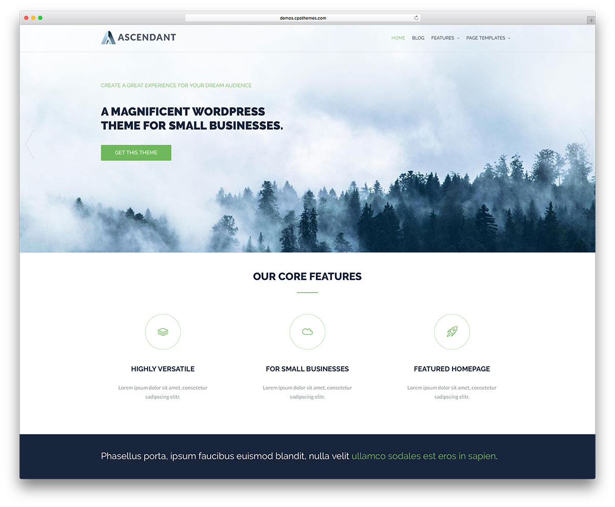 25+ Best Free Landing Page WordPress Themes 2017 - Colorlib