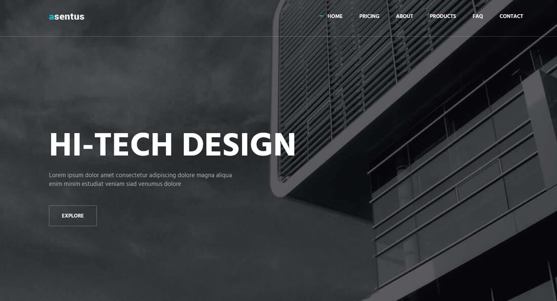 21 Free Architect Website Templates To Form A Well Structured Architect Website