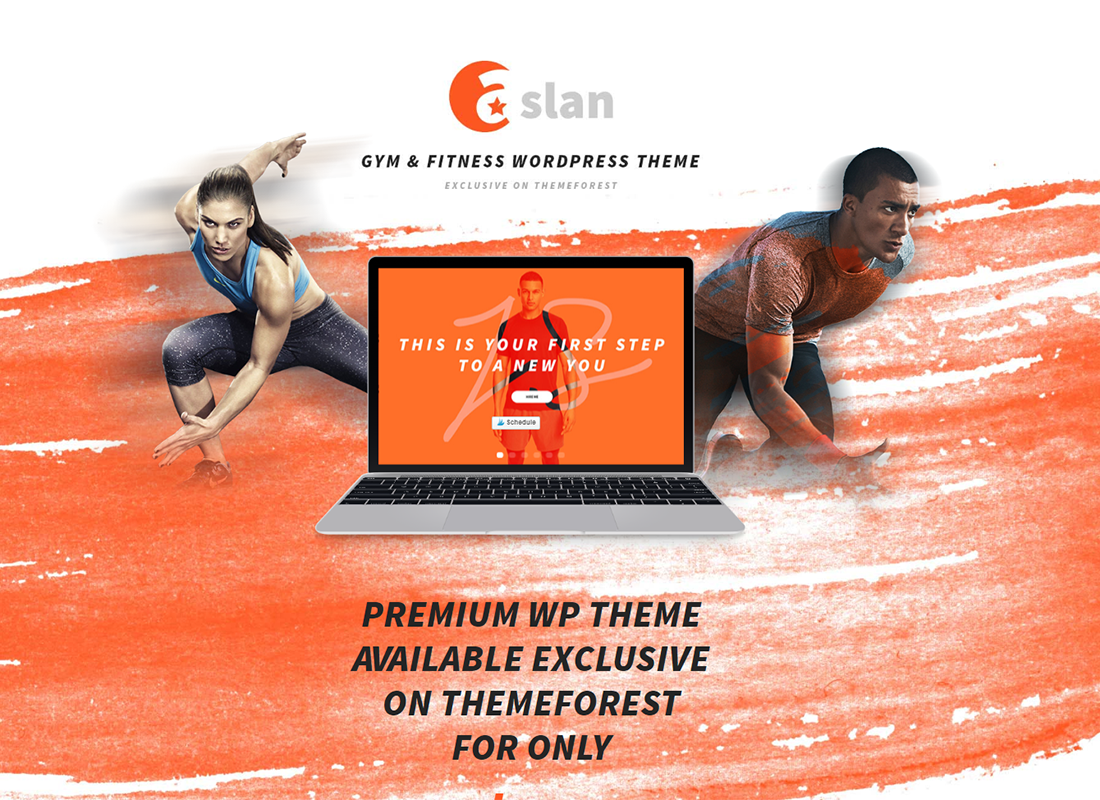Aslan - Modern Gym & Fitness Responsive WordPress Theme