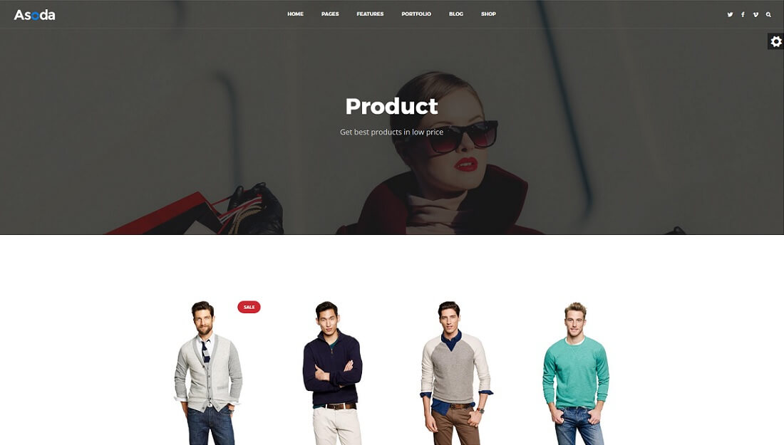 asoda drupal commerce template