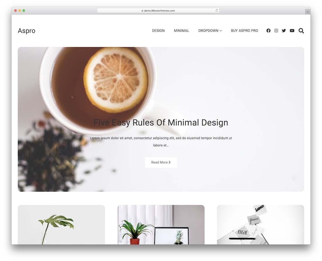 aspro free minimal wordpress theme