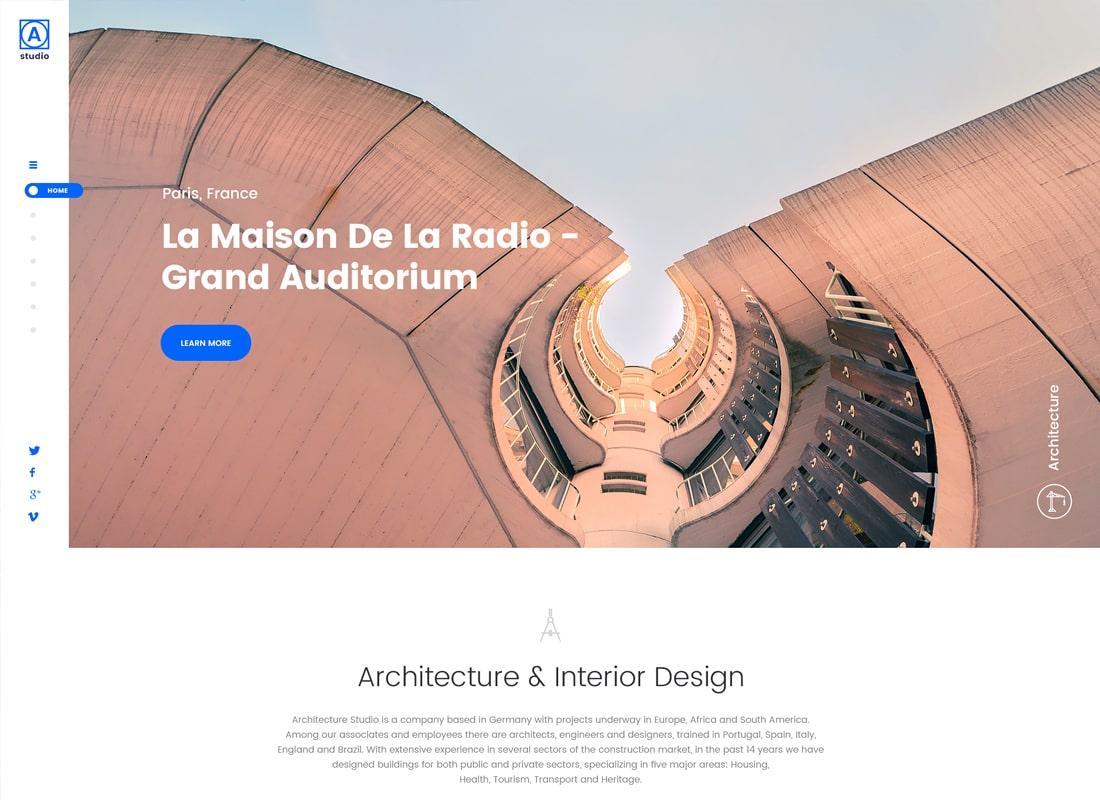 A.Studio | Interior Design and Architecture WordPress Theme