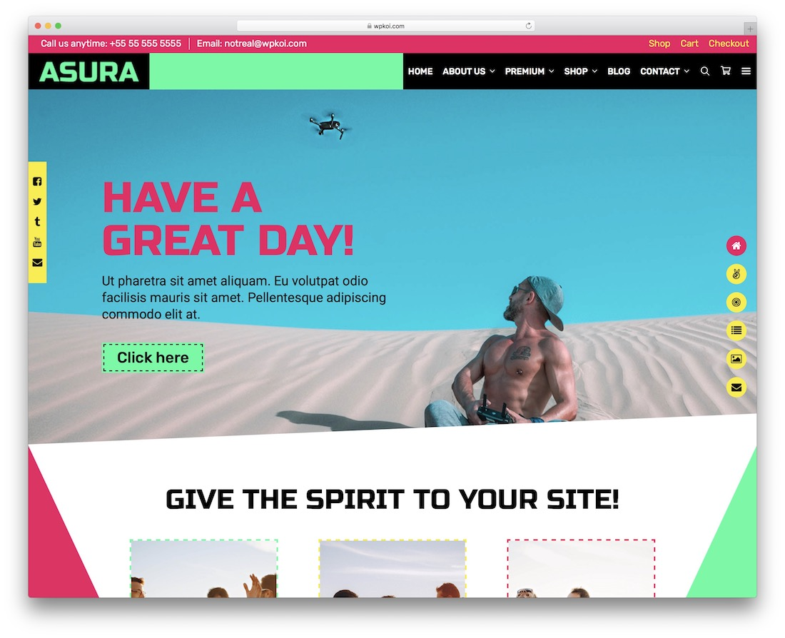 asura free woocommerce wordpress theme