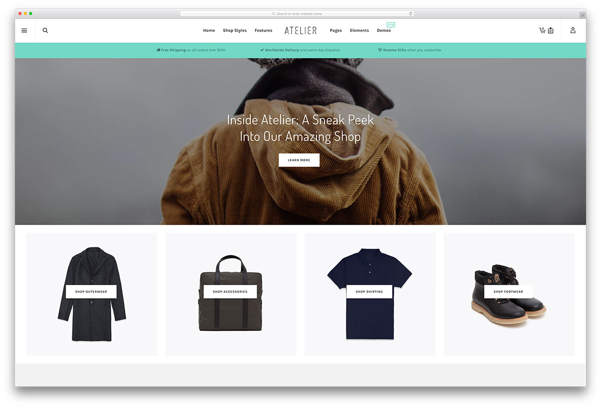 atelier-minimal-woocommerce-wordpress-theme