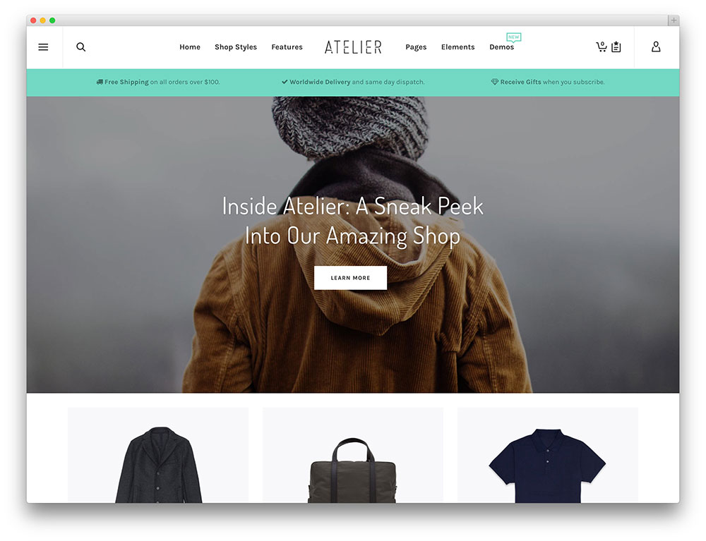atelier multipurpose ecommerce theme