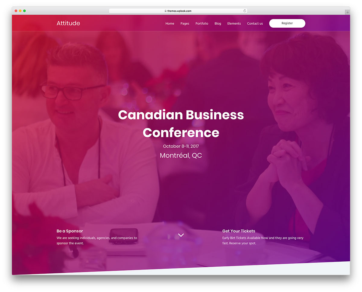 40+ Awesome WordPress Themes for Conference and Events 2019