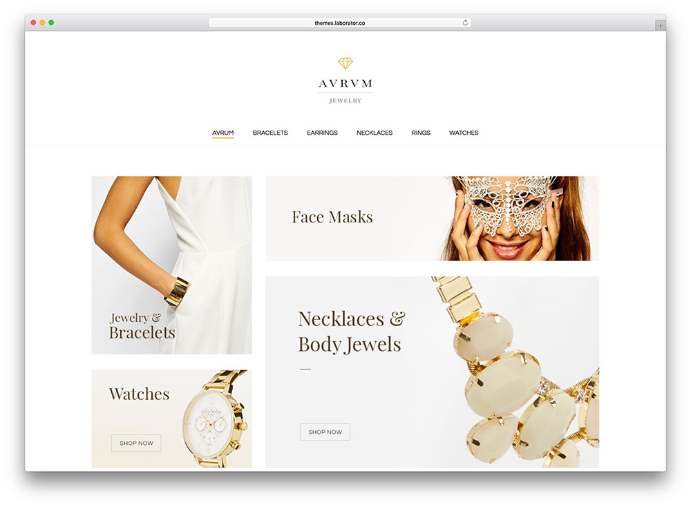 jewelry WooCommerce themes