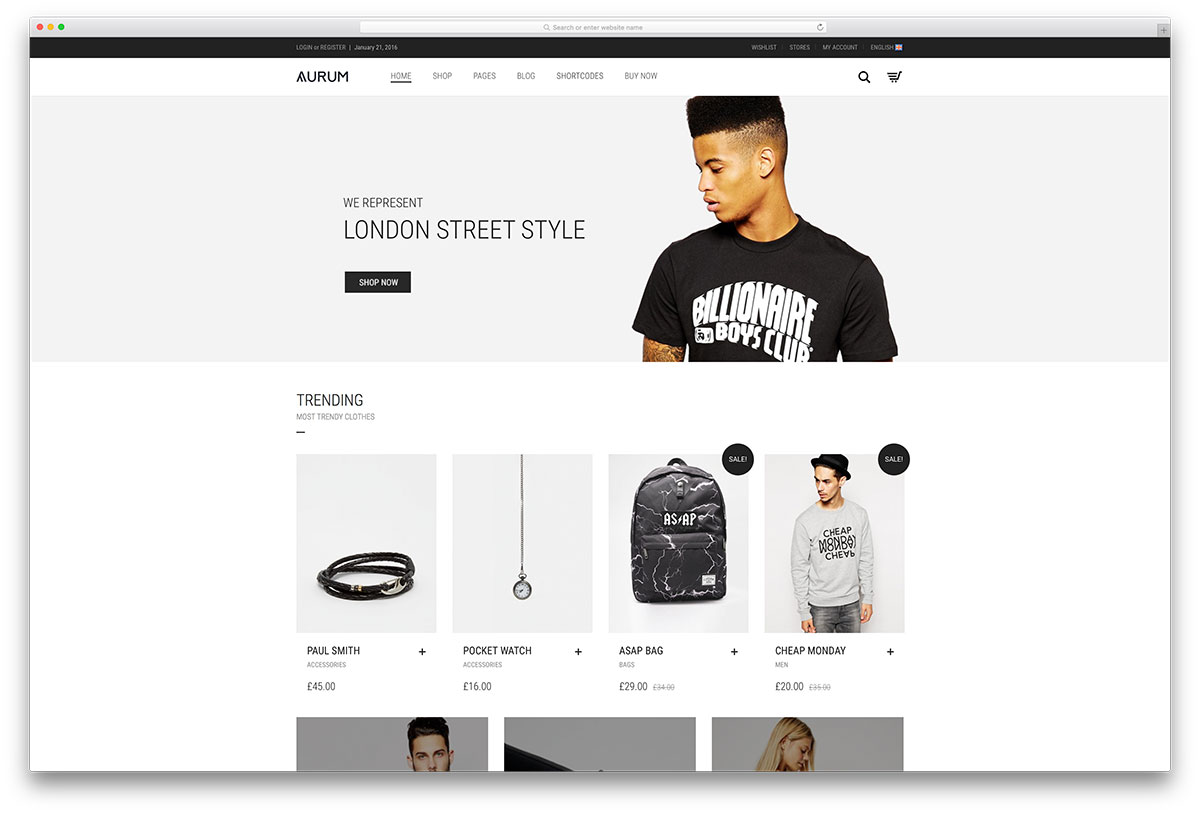 aurum-minimal-ecommerce-wp-theme
