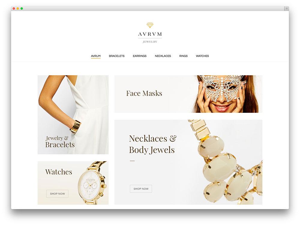 aurum minimalist jewelry store