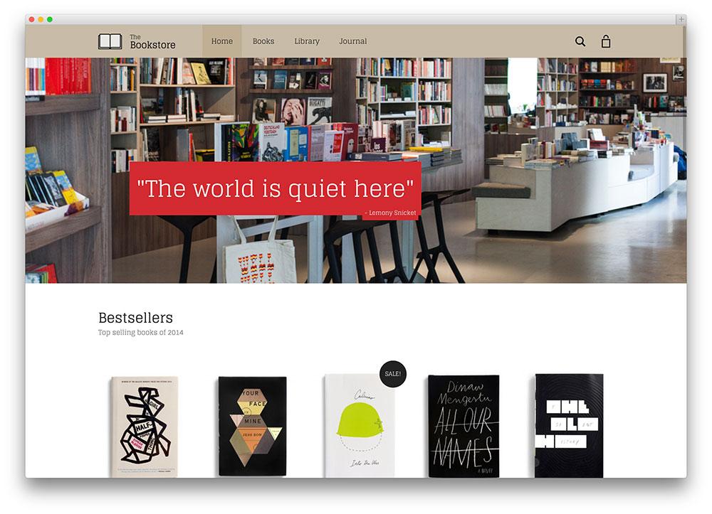 aurum - bookstore wp theme