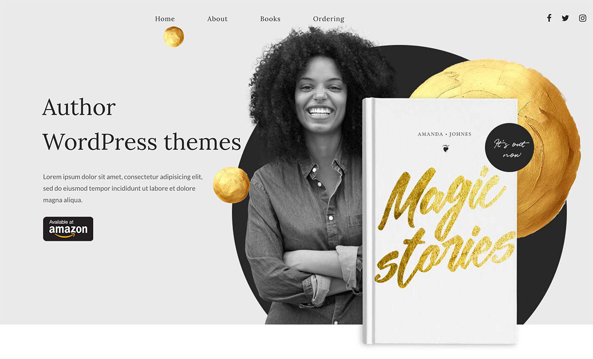12 Best Author WordPress Themes For Authors, Publishers, Reviewers And More 2019