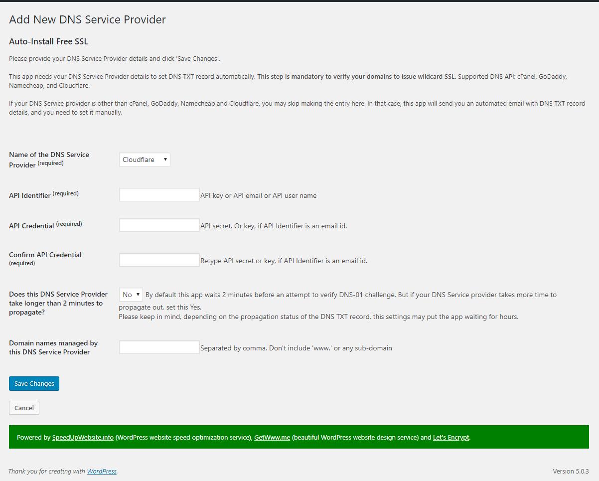 High-Security WordPress SSL Plugin