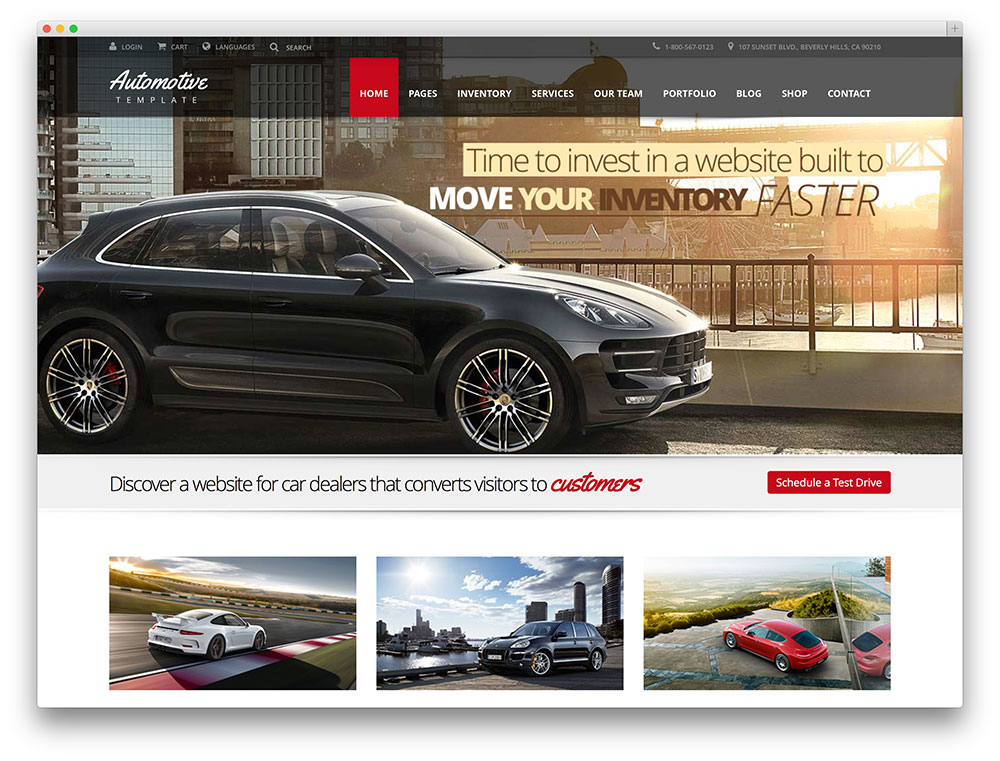 automotive - professional car theme