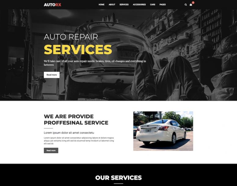 Automotive Website Templates