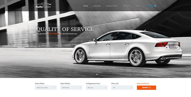 Auto WordPress Theme