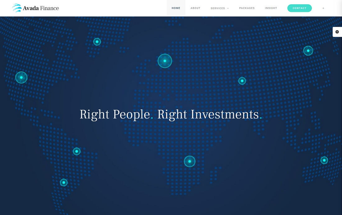 avada finance cryptocurrency wordpress theme