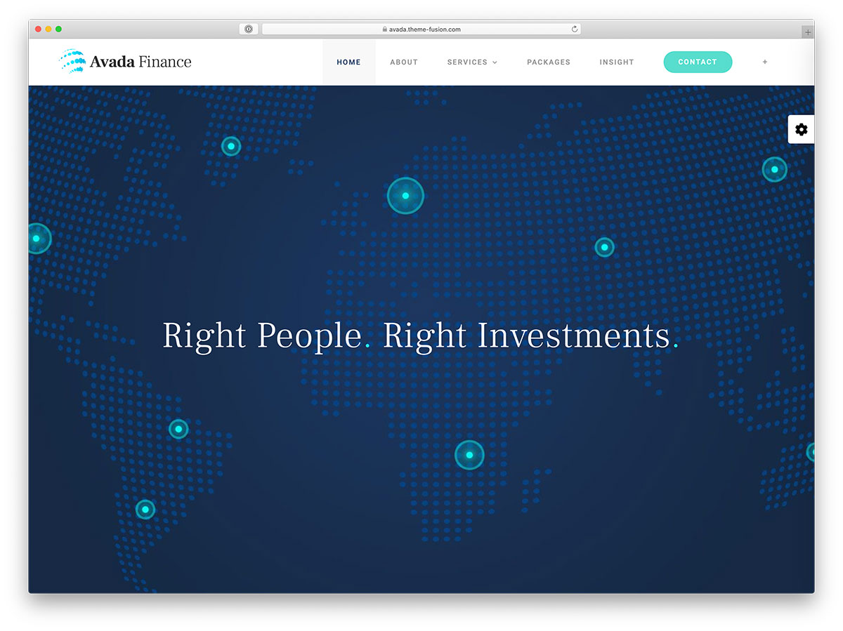 avada insurance wordpress theme - Top 27 WordPress Insurance Company Themes 2020 - Colorlib