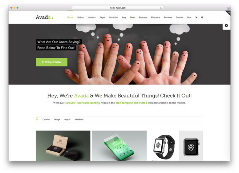 30 Websites Using Best Selling WordPress Theme – Avada – 2017