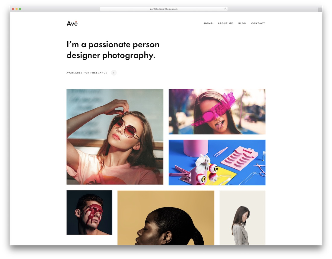 ave rtl wordpress theme