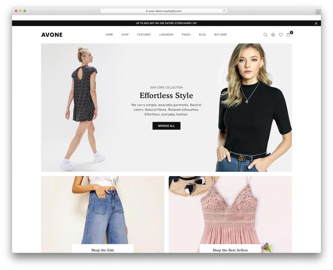 avone boutique shopify theme