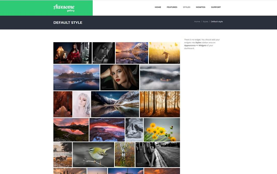 awesome gallery wordpress plugin