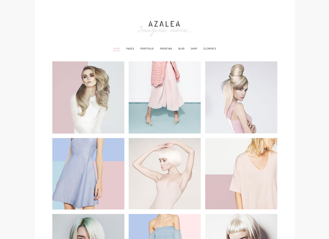 Azalea - Fashion Photography Theme