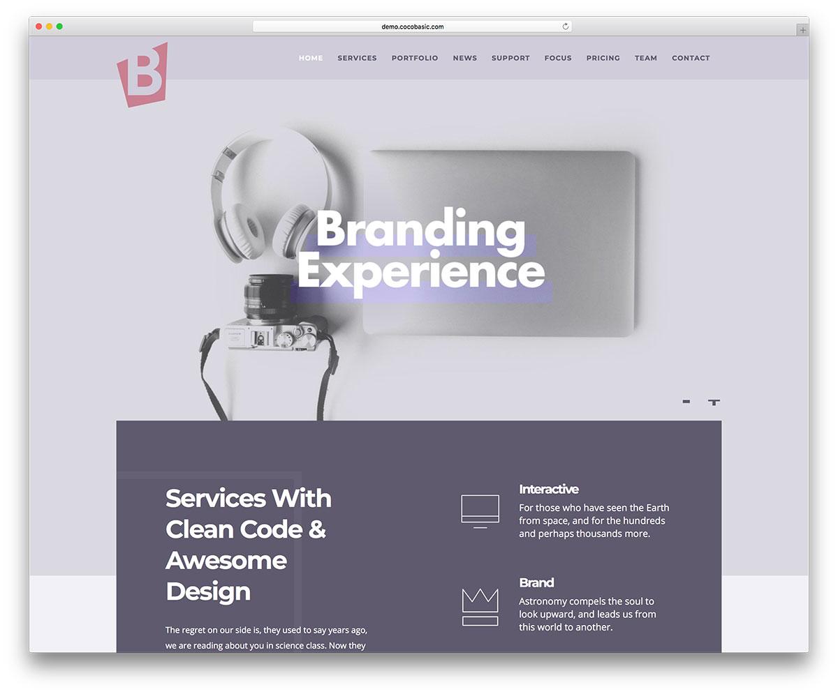Best HTML Bootstrap Portfolio Website Templates Colorlib - E portfolio templates