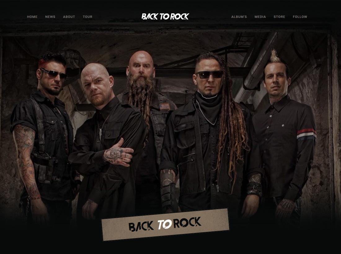 back-to-rock-bootstrap-music-templates
