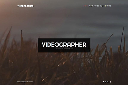 15 Video Background Wordpress Themes 2015 Colorlib