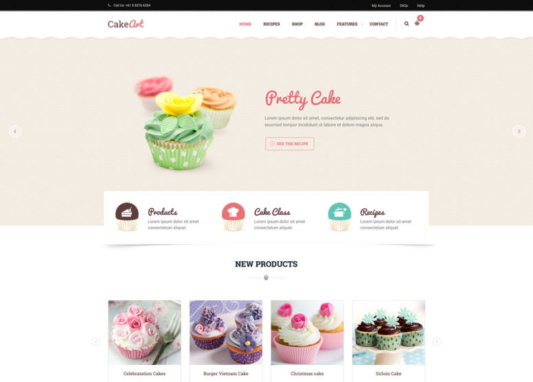 20+ Best WordPress Themes For Bakeries, Coffee Shops, Food Bloggers And More 2017