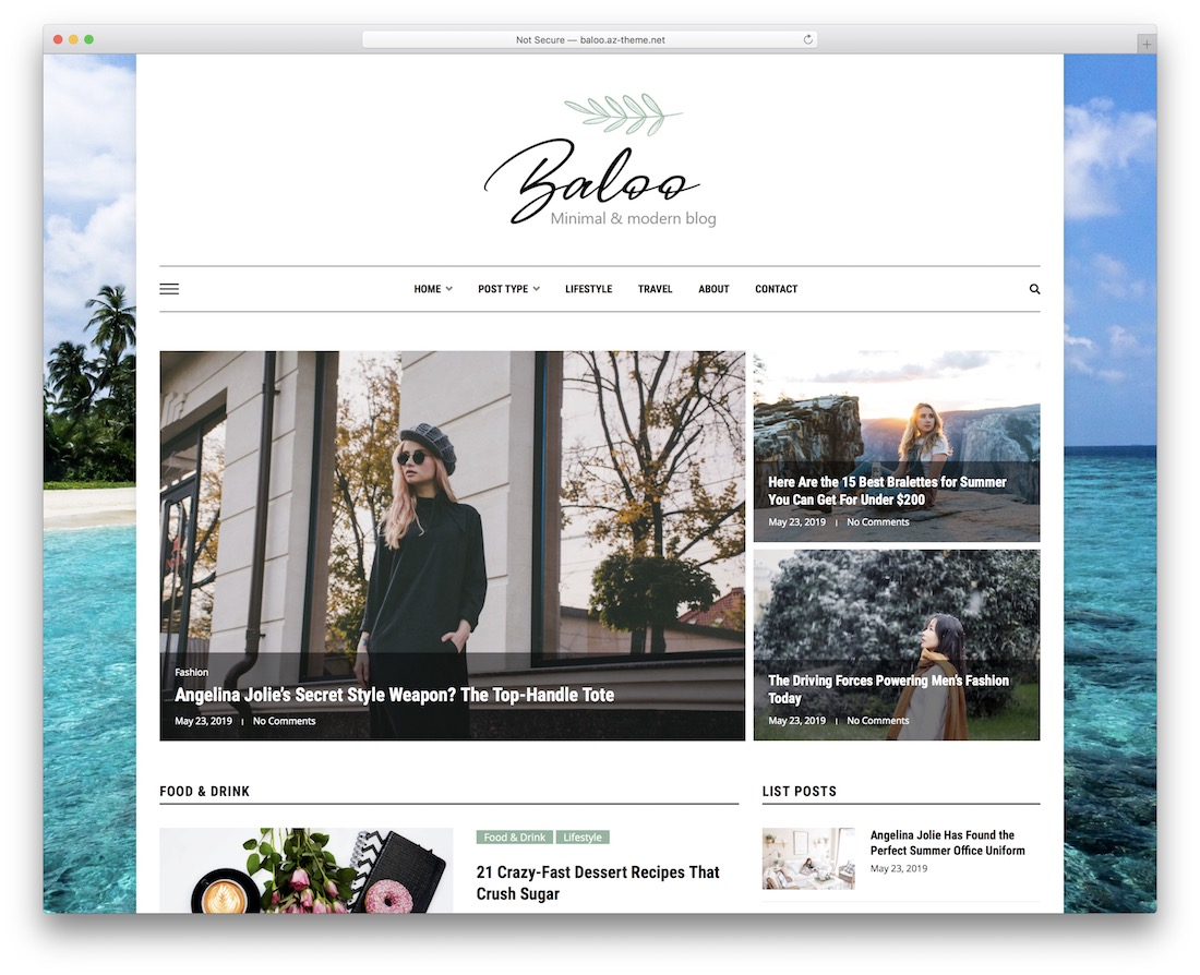 baloo adsense optimized wordpress theme