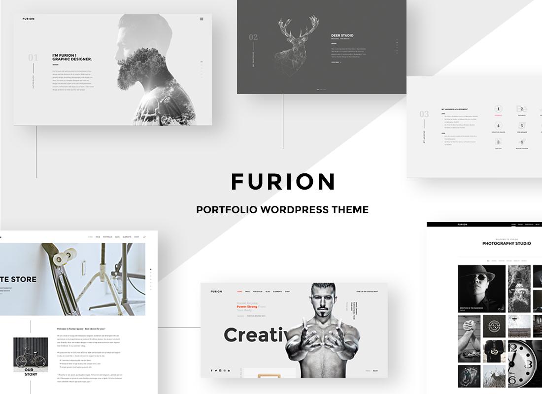 Furion – Best Inspiring Creative Blog & Portfolio WP Theme