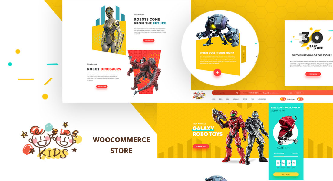 KIDS – Creative WooCommerce WP Theme For Baby & Kids Stores