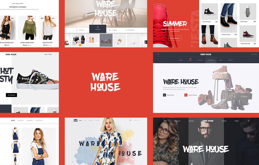 Warehouse – Multipurpose ECommerce WordPress Theme