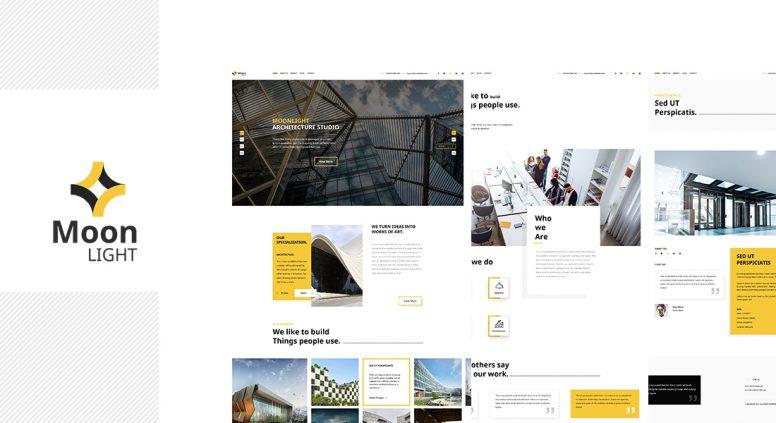 Moonlight – Architect, Decor And Interior Design WordPress Theme