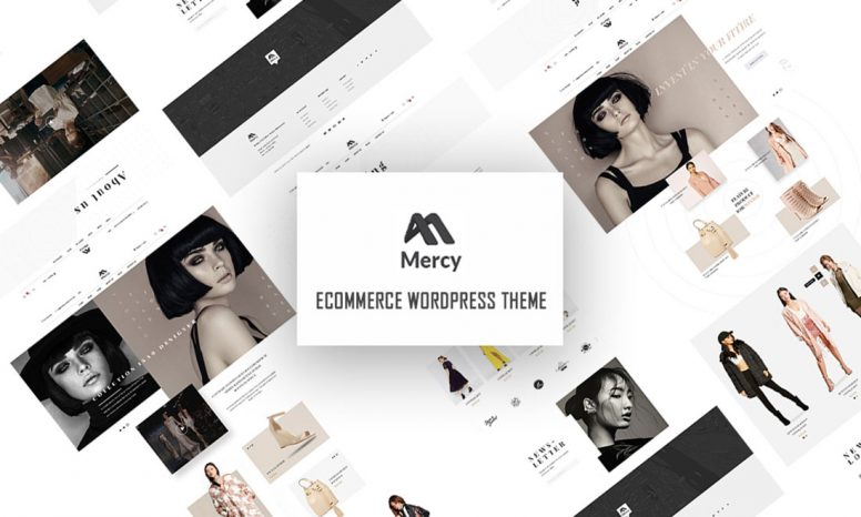 Mercy – Modern WP Theme For Fashion Shop