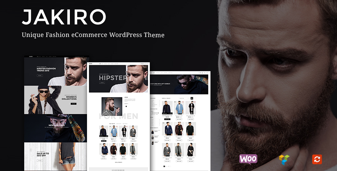 Jakiro – Unique Fashion Shop ECommerce WordPress Theme