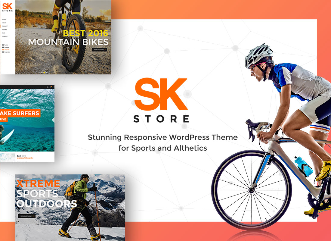 SKStore WordPress Theme – Easy To Build Your Own ECommerce Site