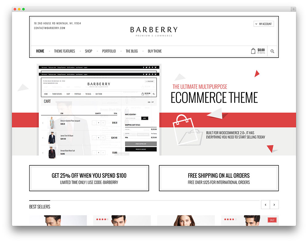 barberry elegant ecommerce theme