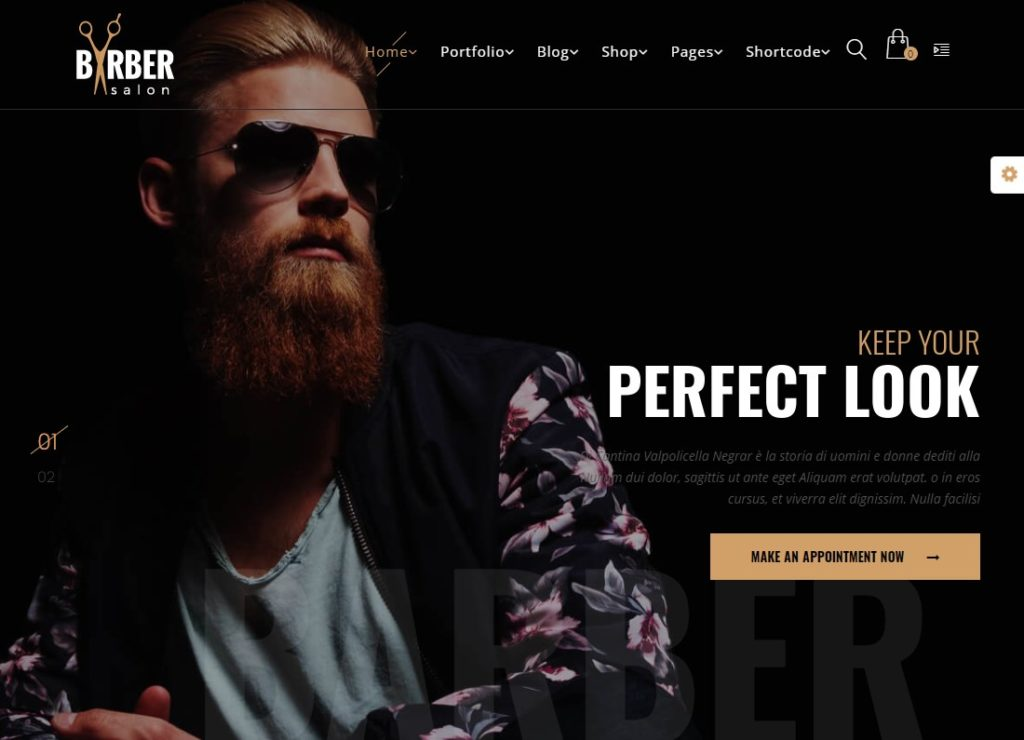 Barber | Hair, Tattoo & Beauty Salons WordPress Theme