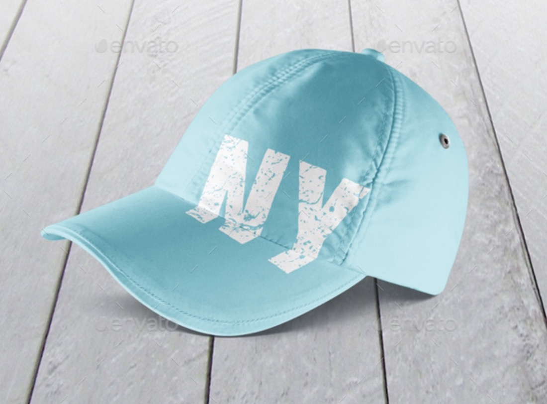 baseball cap mockup set