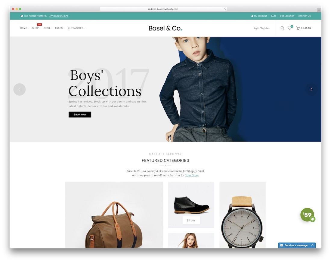 basel best shopify theme