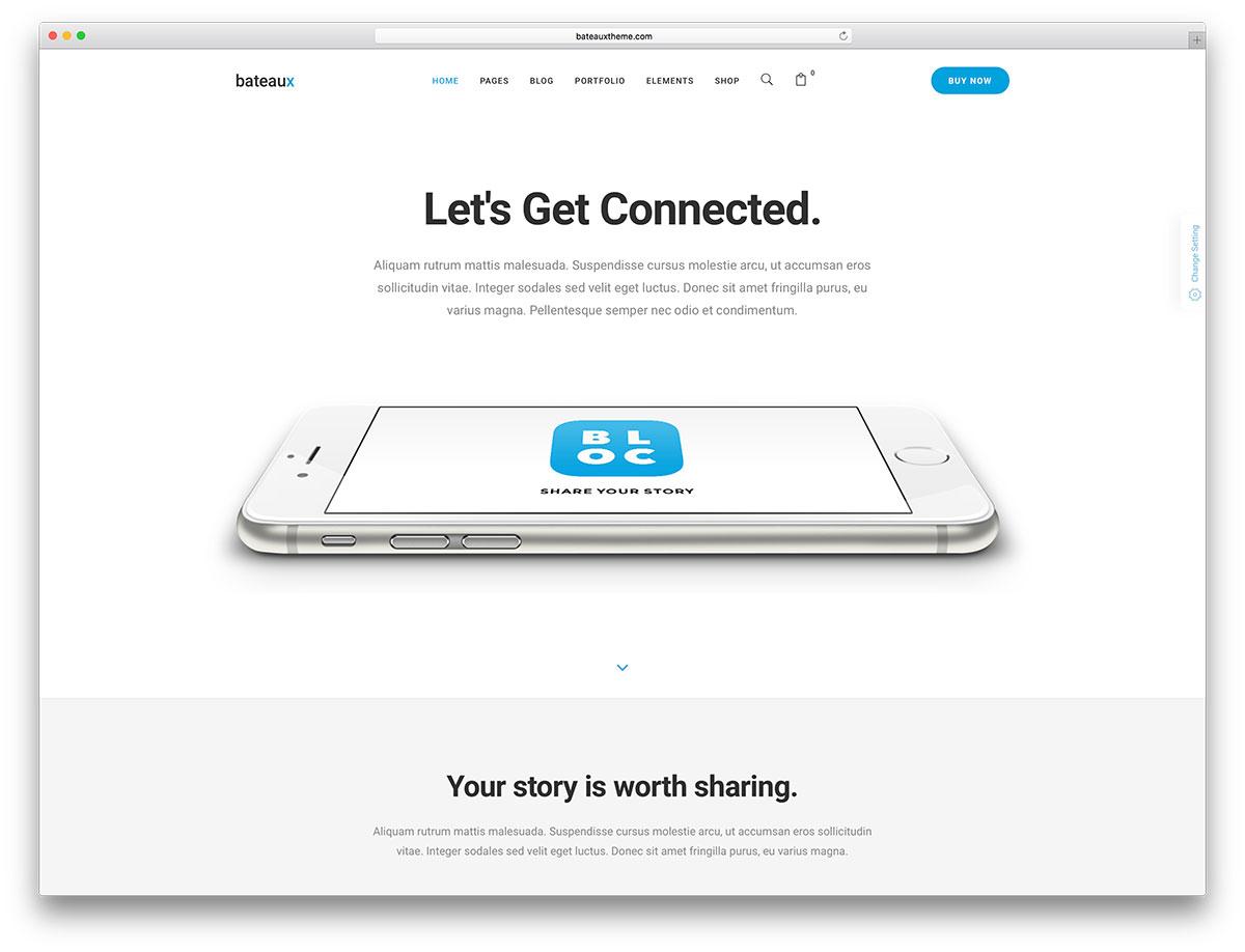 bateaux-app-landing-page-website-template
