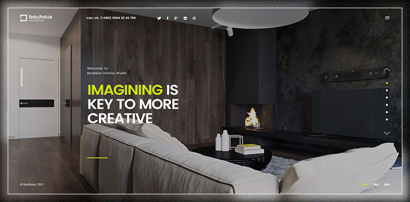 20 Best Interior Design WordPress Themes 2017