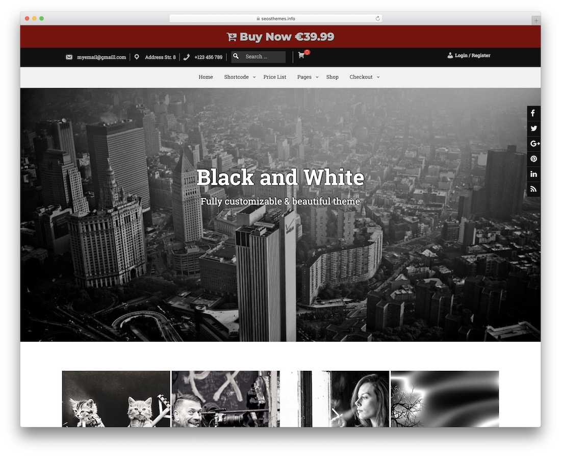 baw free responsive wordpress theme